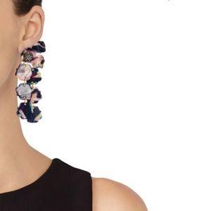 Lele Sadoughi Petal Drop Earrings NWT